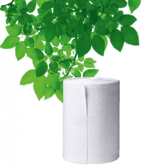Stoffhandtuchrolle mit Blättern