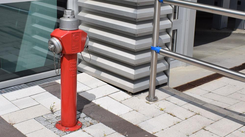 Einbau und Wartung von Überflurhydranten