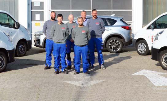 CWS Fire Safety Team in Dreieich