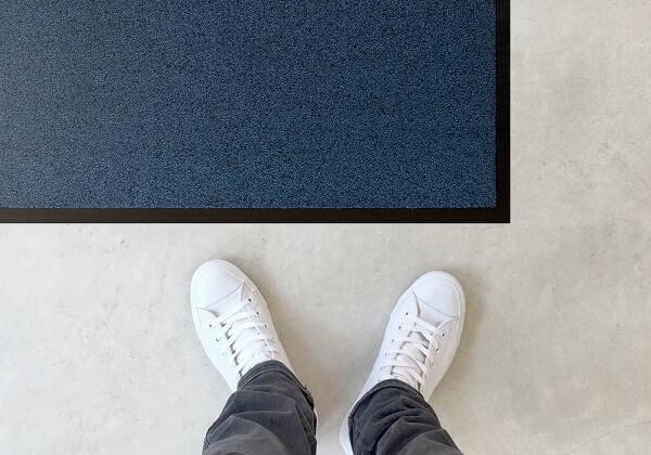 Combinatie van droogloop en schoonloop mat