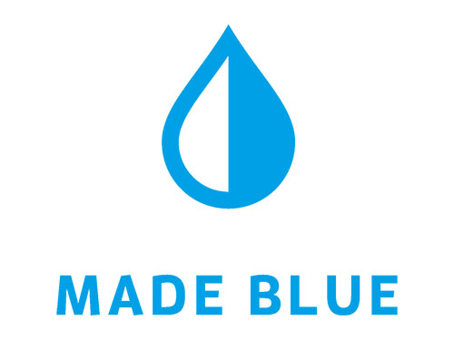 Made Blue water logo