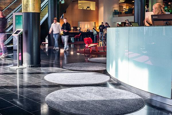 cirkelvormige ronde matten