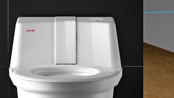 Zelfreinigende toiletbril maakt automatisch schoon
