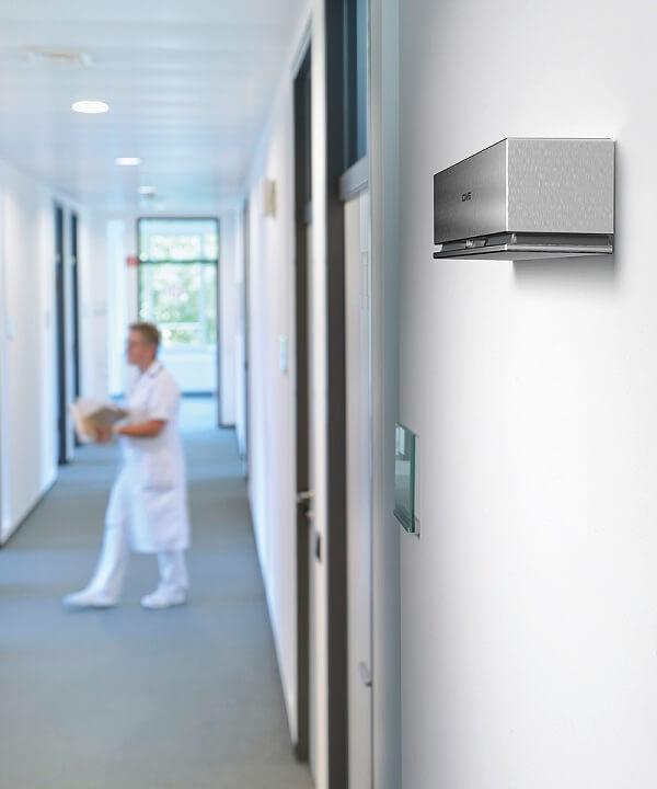 Automatische luchtverfrisser voor zakelijk gebruik