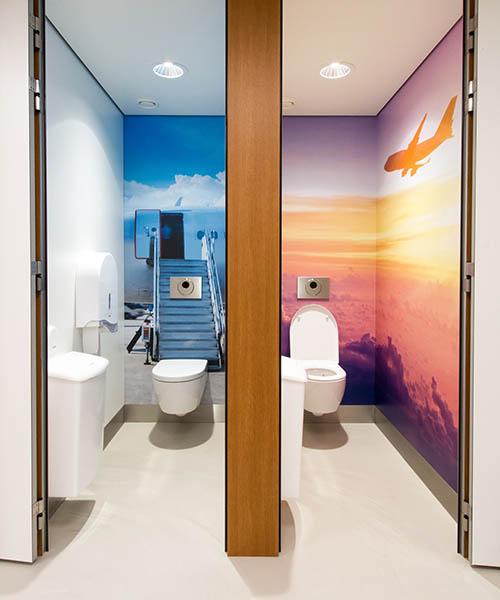 Toiletinrichting complete toegevoegde waarde