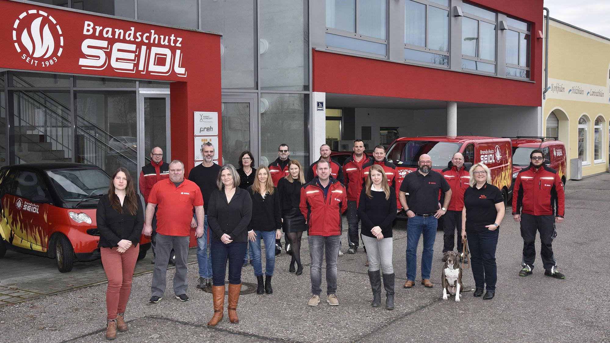 Team CWS Fire Safety Ingolstadt Brandschutz