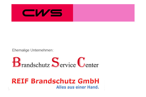 CWS Fire Safety GmbH Dreieich ehemals BSC und Reif Brandschutz