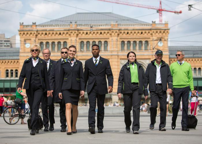 Corporate fashion: Öffentlicher Verkehr