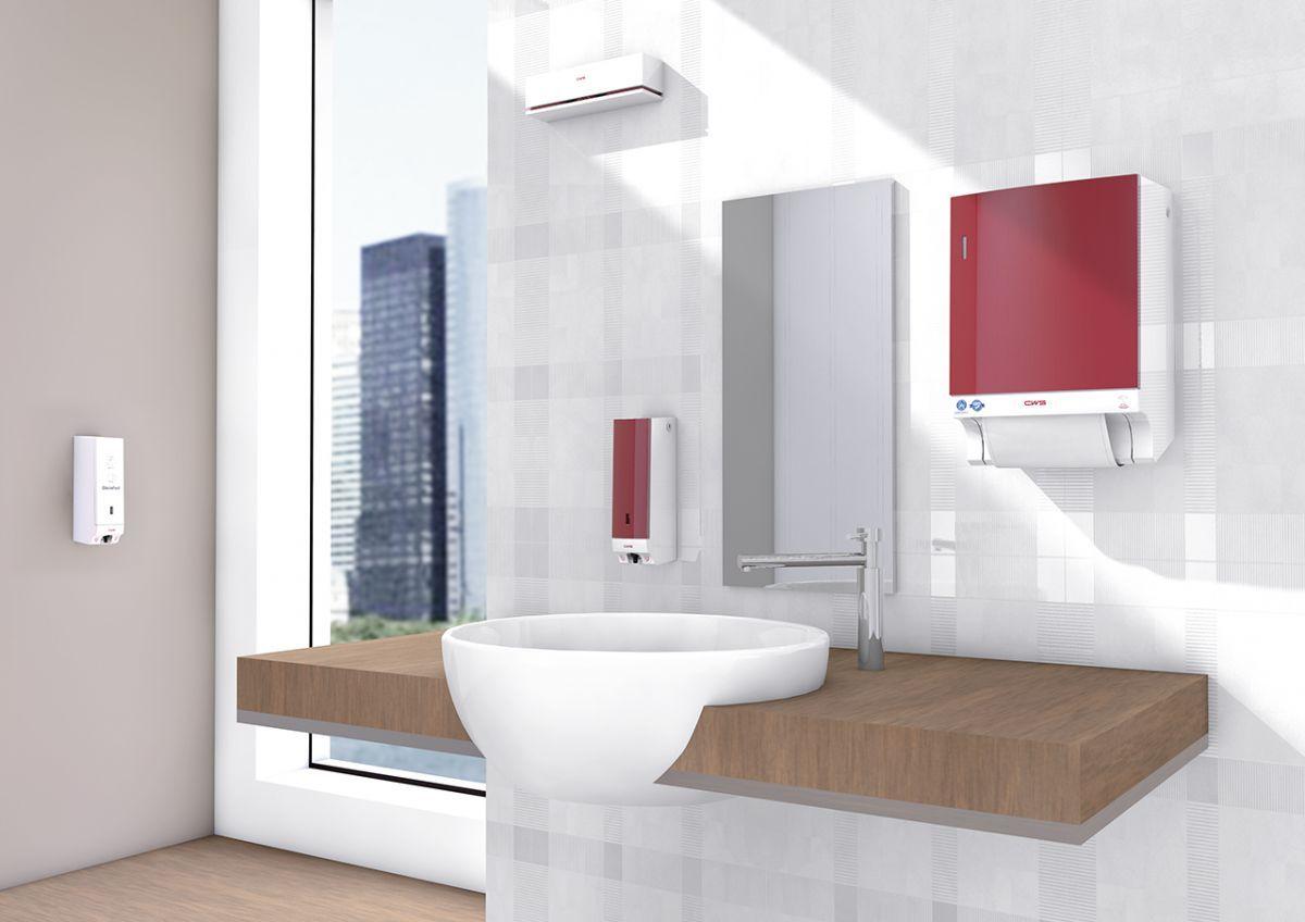 Handdroging in sanitaire ruimte