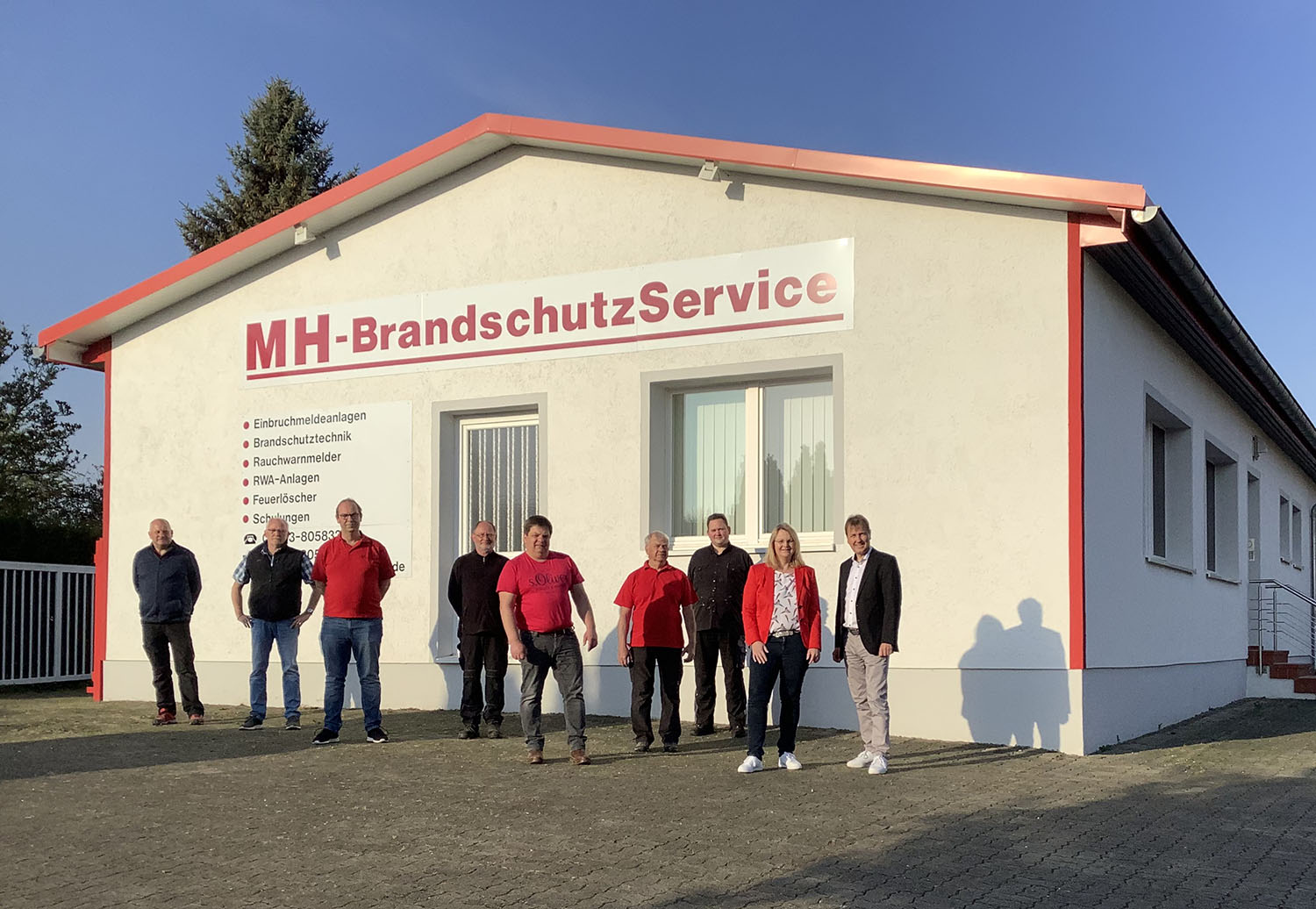 CWS Fire Safety Team Göttingen - Brandschutz