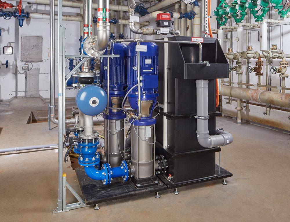 Löschwasseranlage mit Trinkwassertrennung CWS Fire Safety Brandschutz
