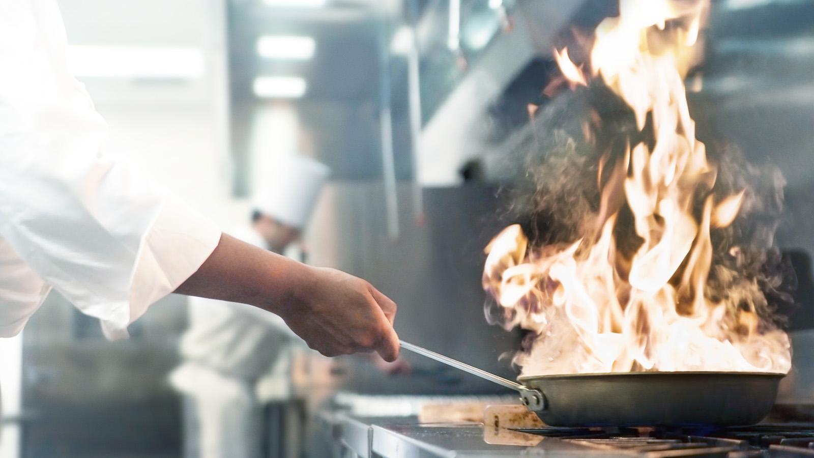 Brandschutz in Küchen und Co - CWS Fire Safety Keyvisual