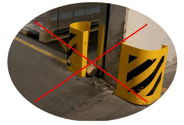 Brandschutztor verkeilen ist verboten - kein Brandschutz