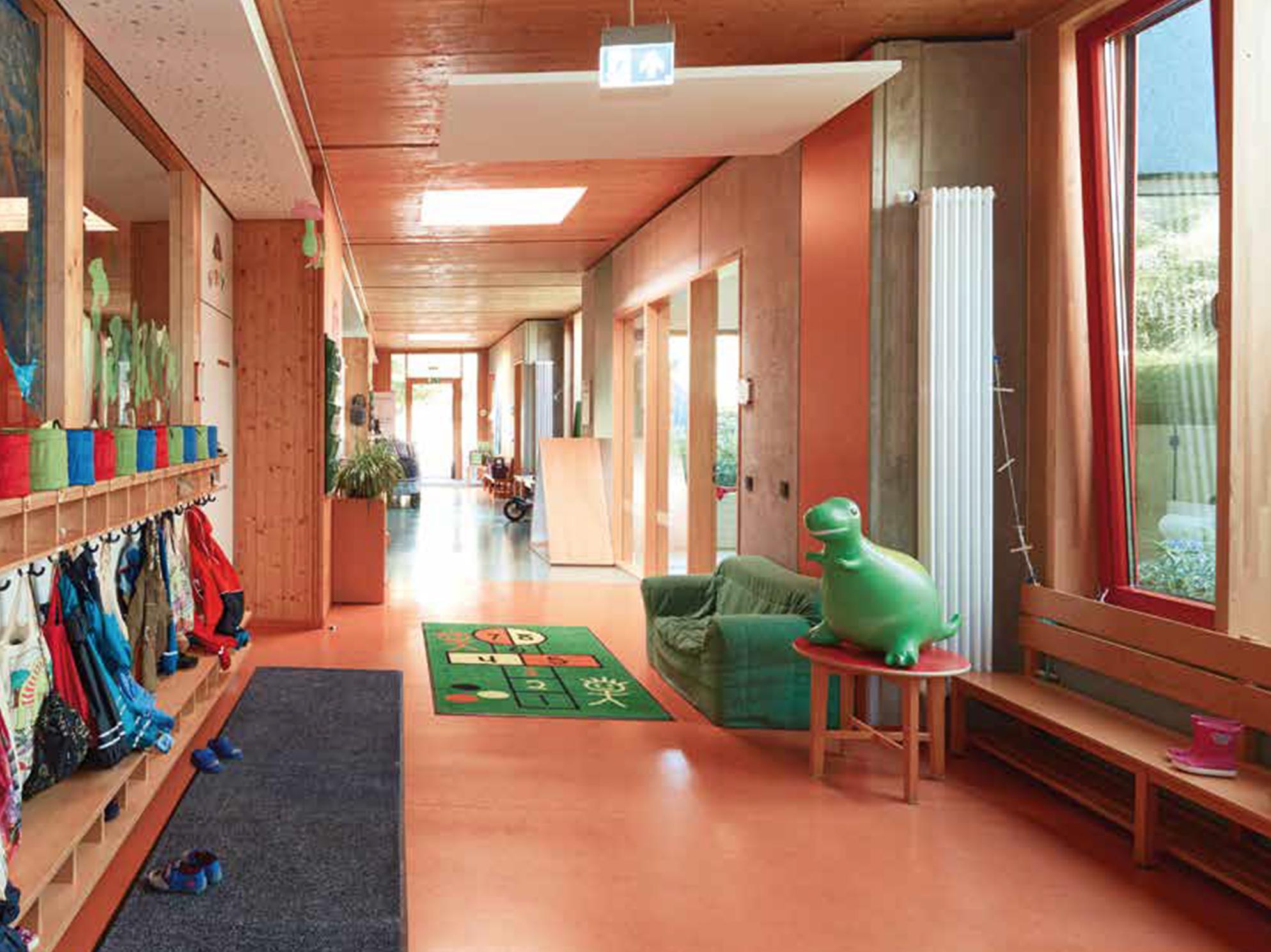 Eingangsbereich einer Kita