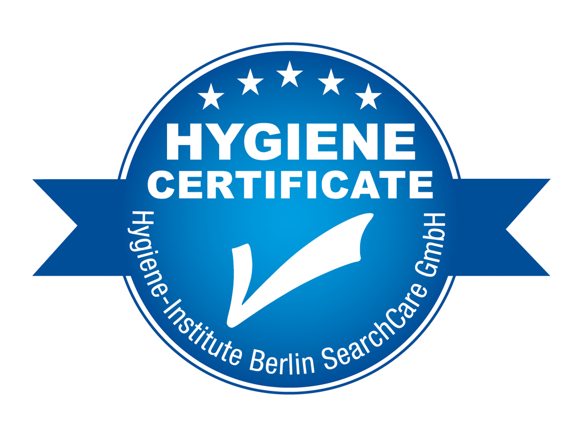 Hygiene Zertifikat des Hygiene-Instituts Berlin SearchCare