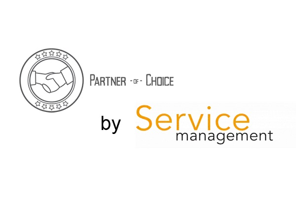 Partner of Choice van Service Managers is CWS