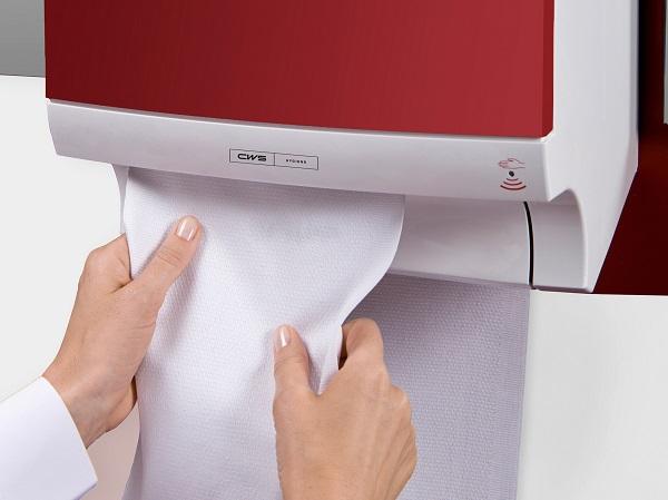 Handdoekdispensers met katoen