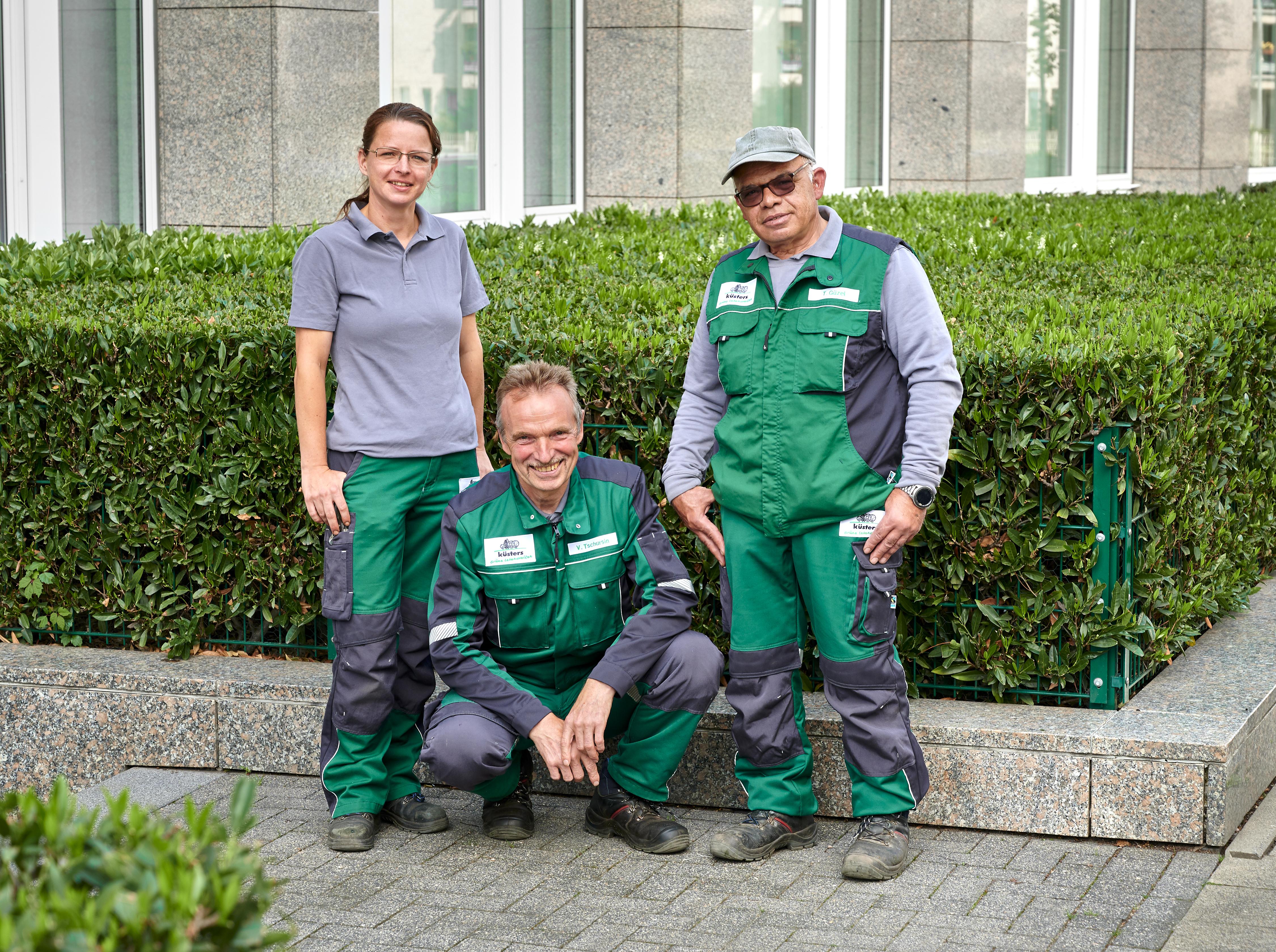 Immer saubere Arbeitskleidung - Gartenhof Küsters