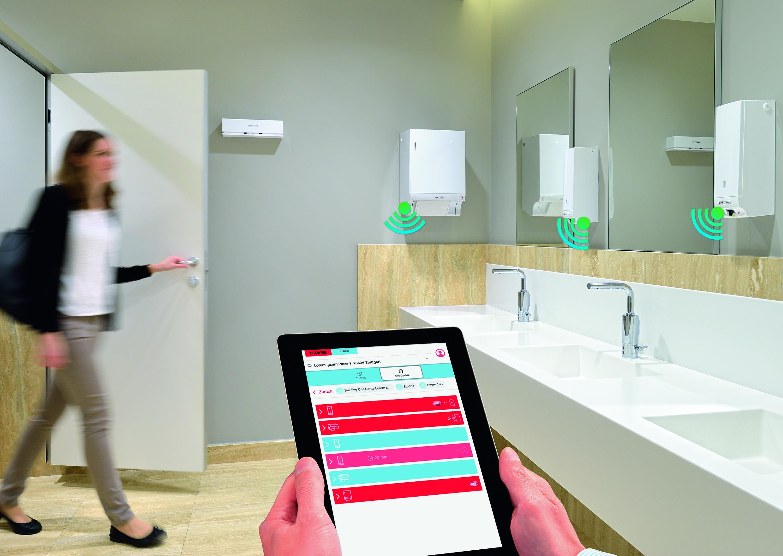 Digital Waschraum solution
