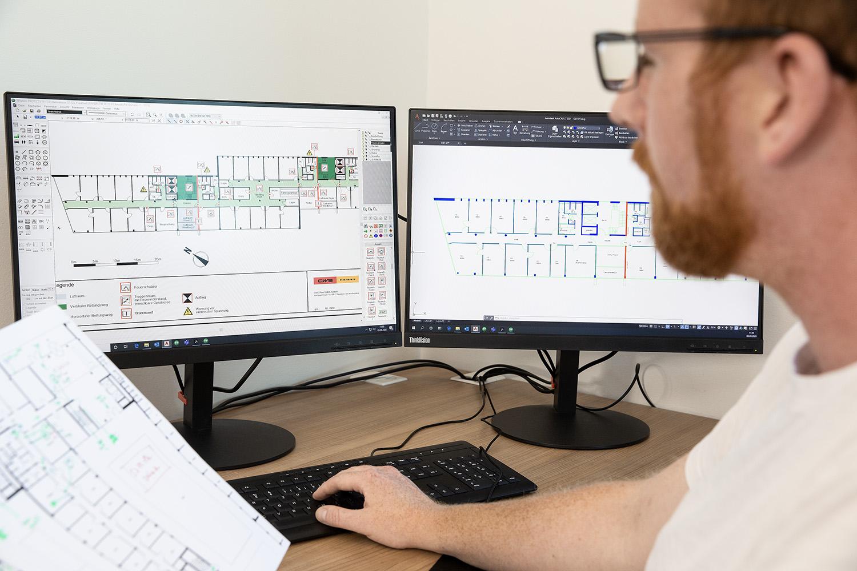 Brandschutzpläne erstellen mit CAD-Software