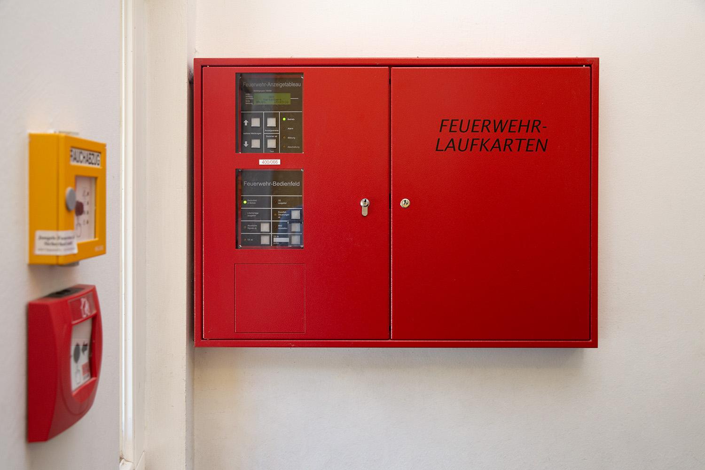 BMA Feuerwehr-Anzeigentabelau Feuerwehrlaufkarten