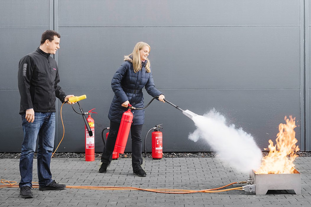 CWS Fire Safety Feuerlöschübung Feuerlöscher