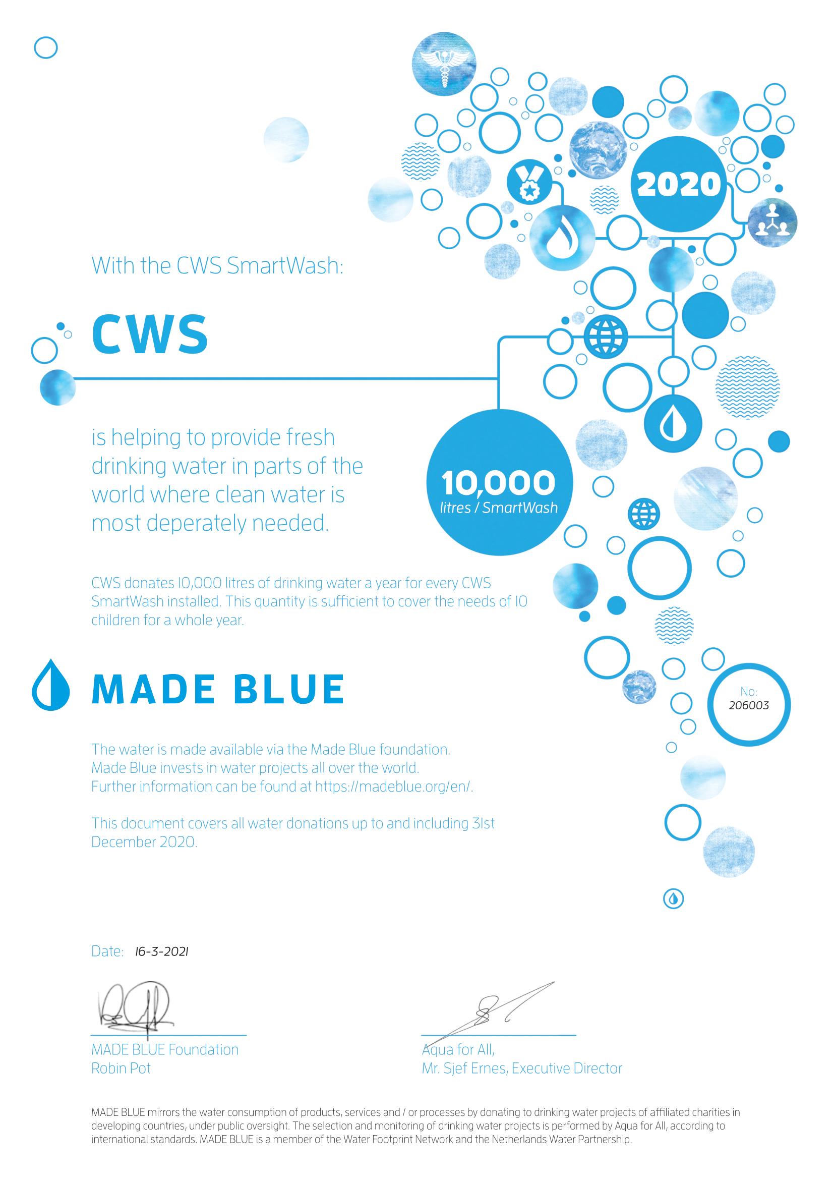 made blue smartwash ENG