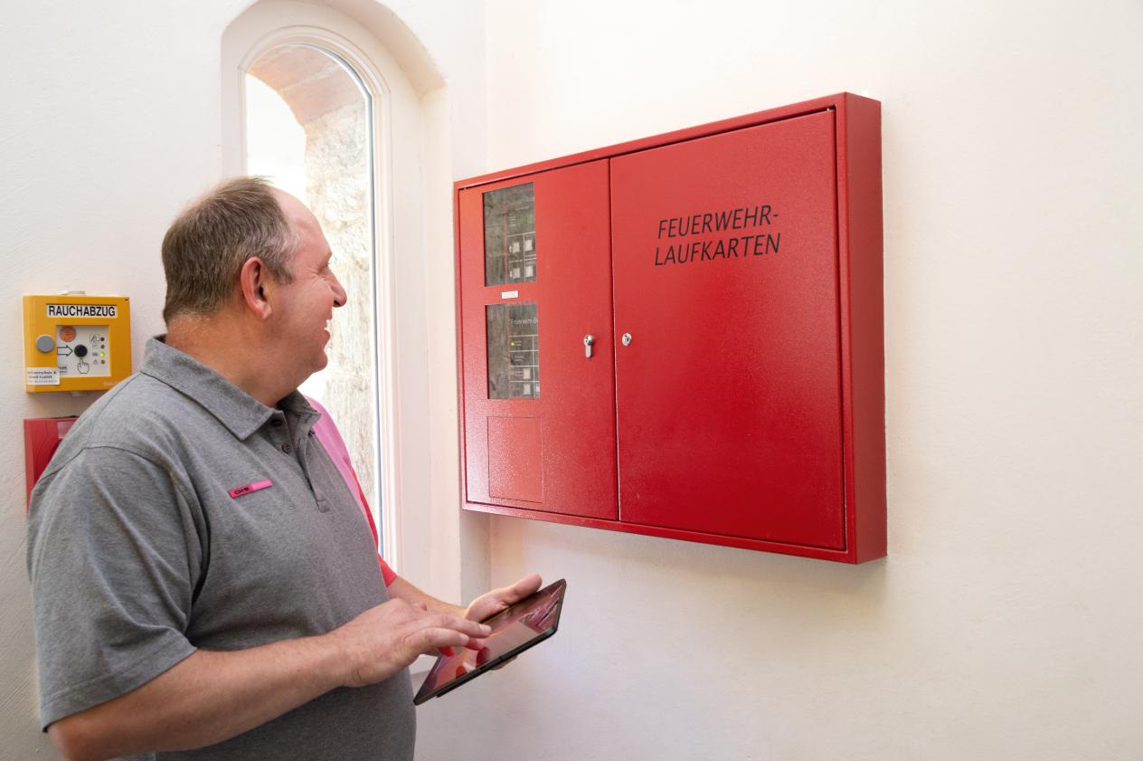 Brandmeldeanlage (BMA) und Feuerwehrlaufkarten