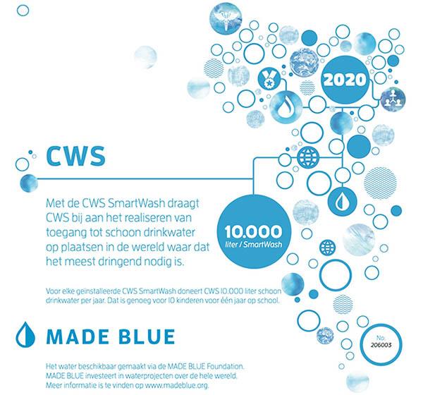 Water certificaat CWS SmartWash 2020