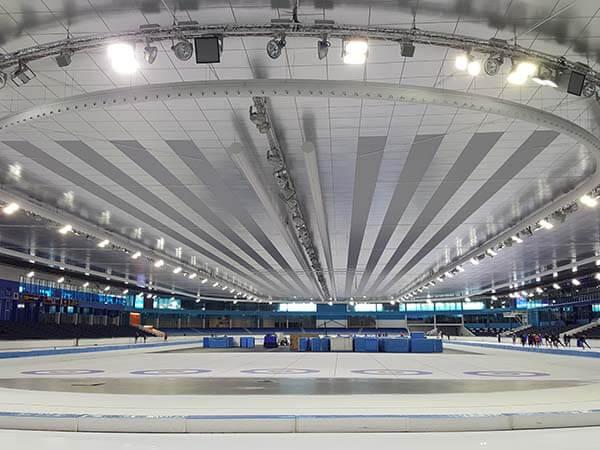 Thialf ice stadium, Heerenveen, June 2019 door OlafJanssen / CC BY-SA 4.0