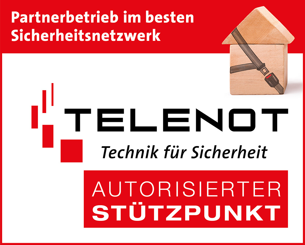 Telenot Partnerlogo Sicherheitstechnik