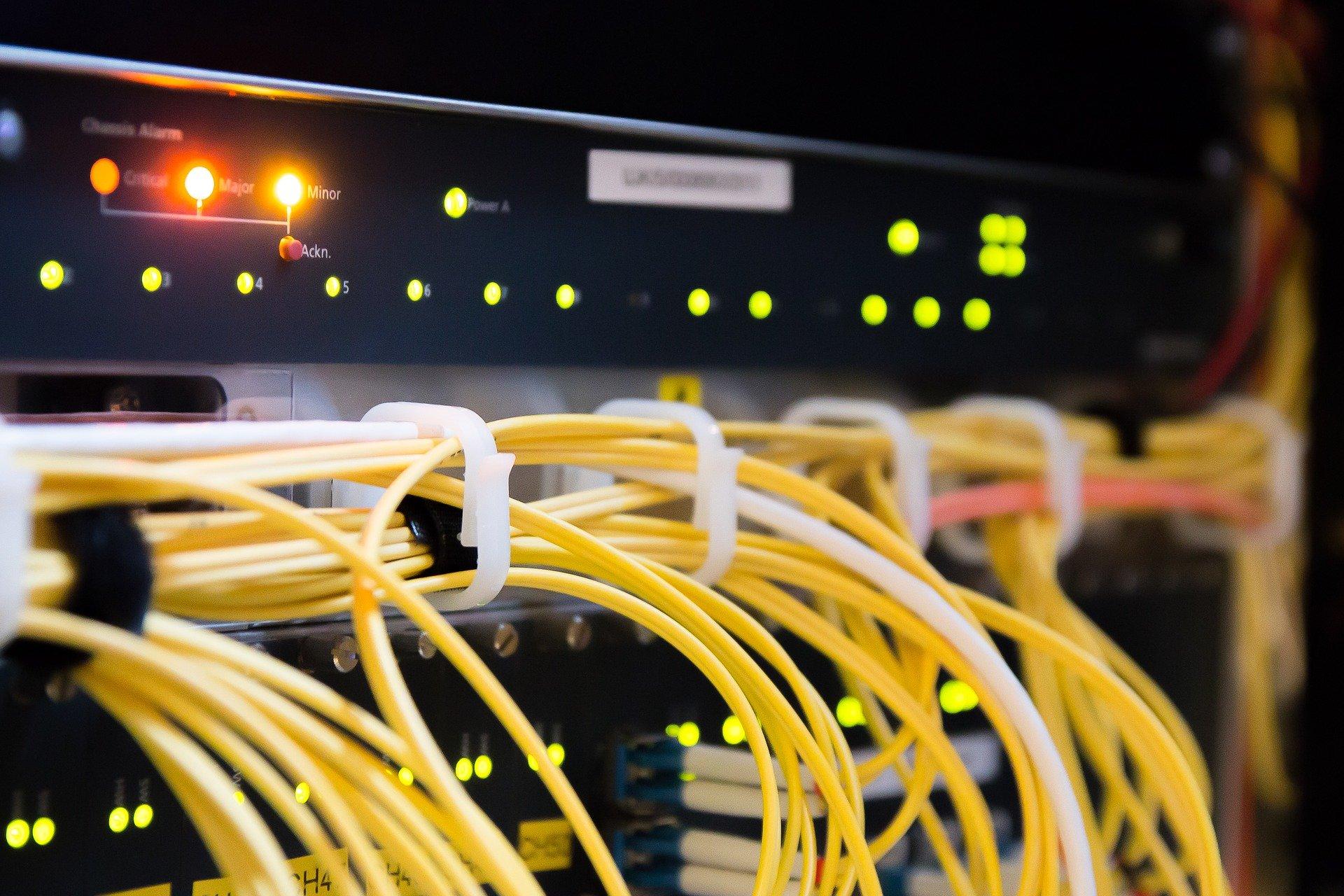 Server Kabelverbindungen