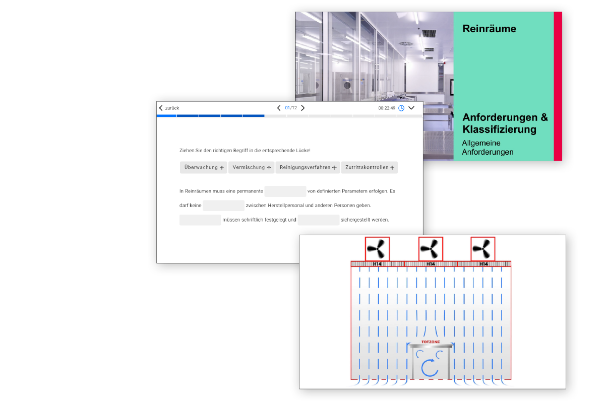 Cleanrooms Online Screens