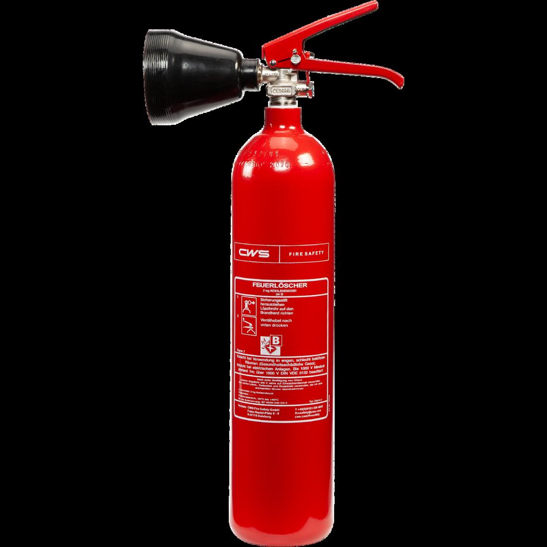 CO2-Feuerlöscher