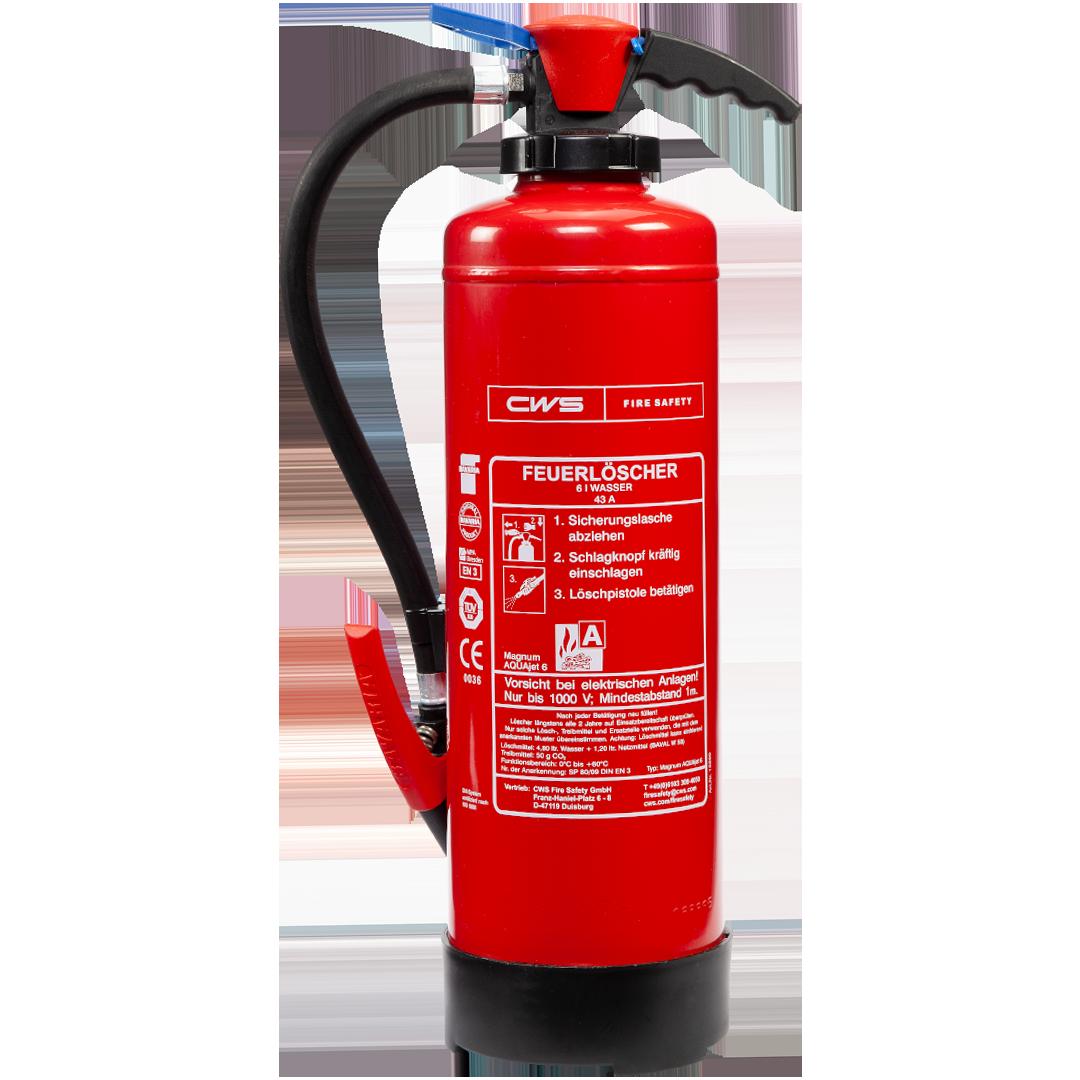 Wasserlöscher Feuerlöscher