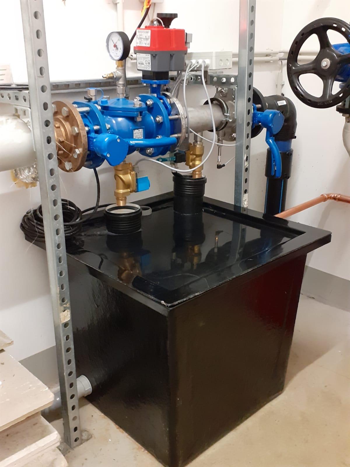 Füll- und Entleerstation Trennstation Löschwassertechnik