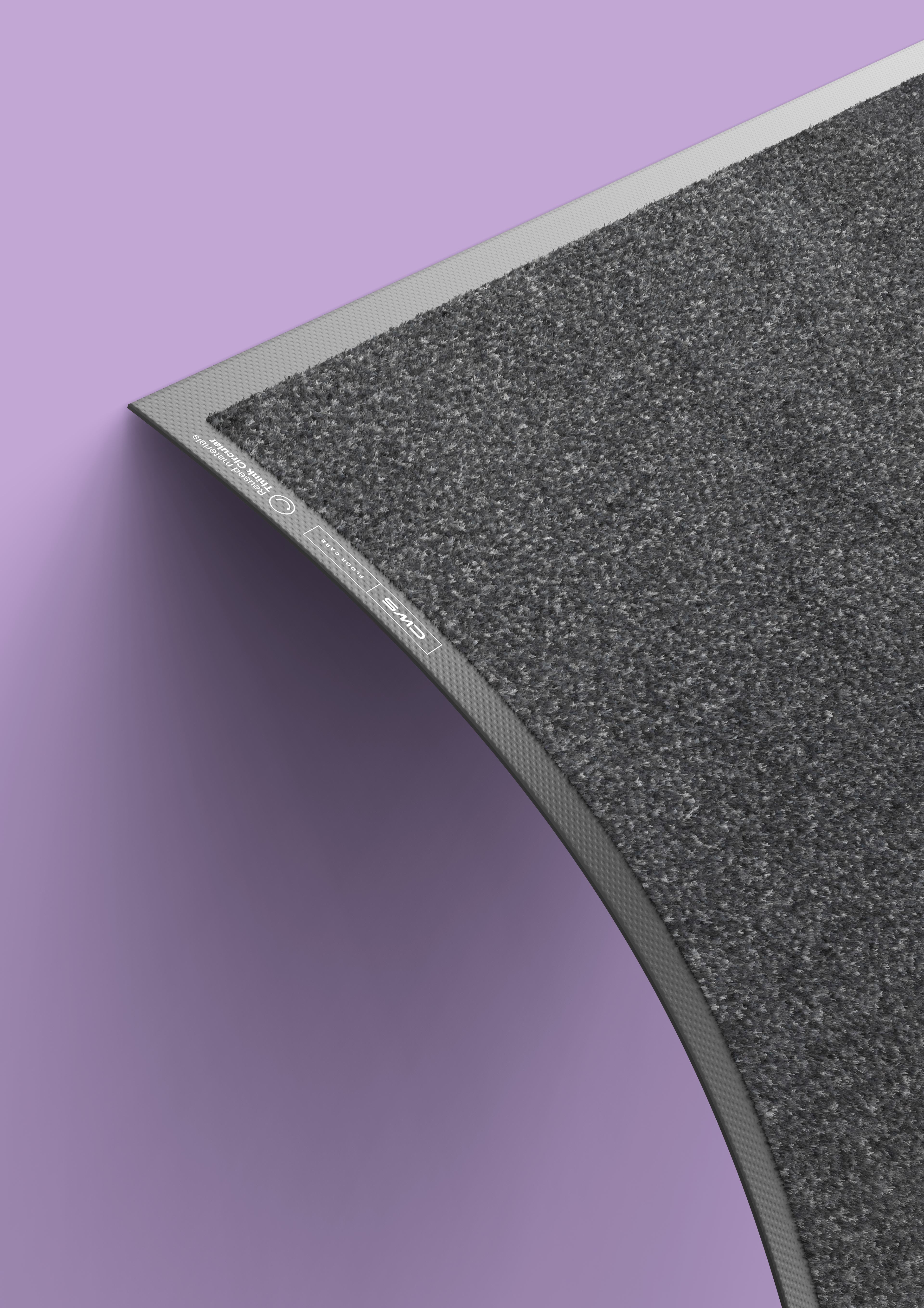 CWS GreenMat in black with purple background