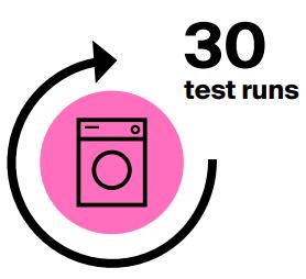 30 test runs