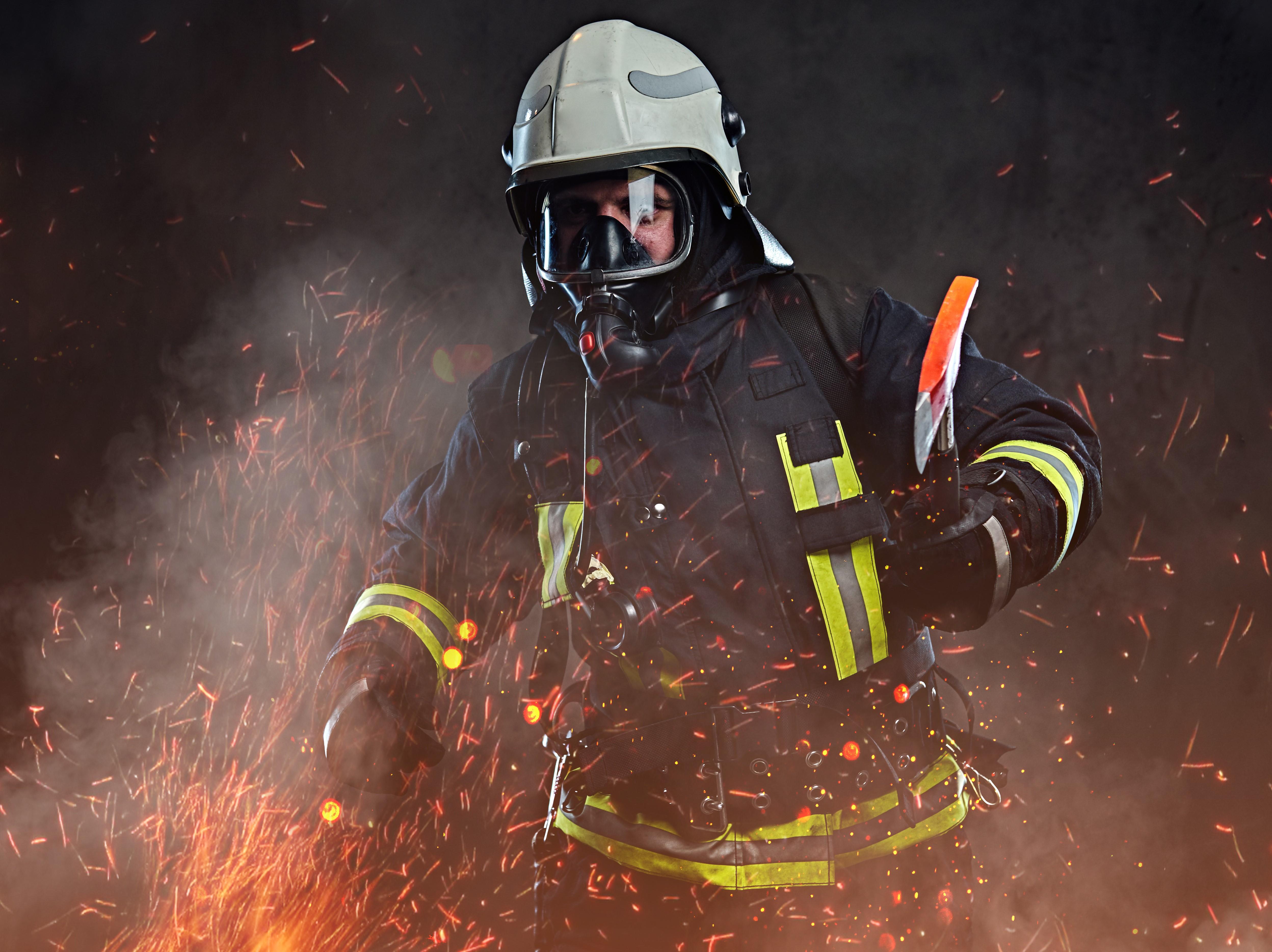 Feuerwehr Mann