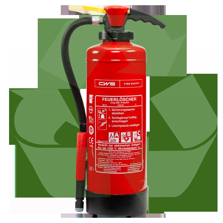 Kreislauf Feuerlöscher - Nachhaltigkeit im Brandschutz