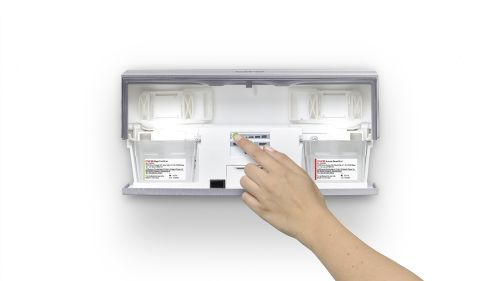 CWS Air Bar Fragrance dispenser opened