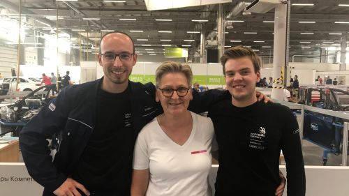 CWS WorldSkills 2019 competitor, expert and supervisor 2