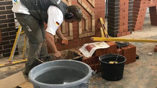 CWS WorldSkills 2019 skill bricklayer