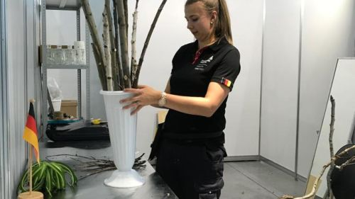 CWS WorldSkills 2019 skill florists