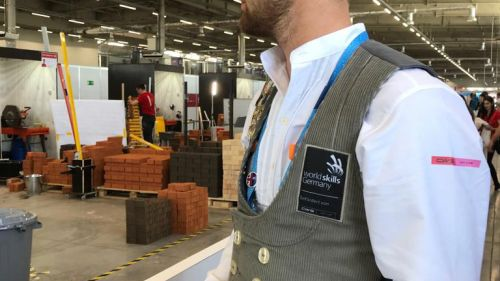CWS WorldSkills 2019 skill superman 3