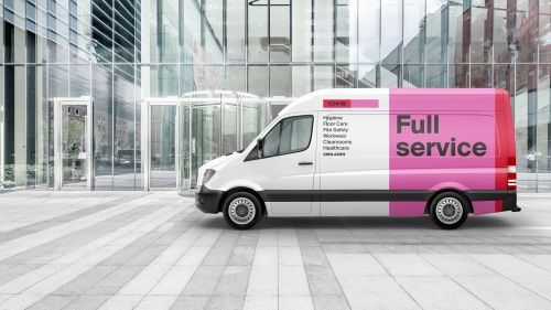 CWS new brand service truck