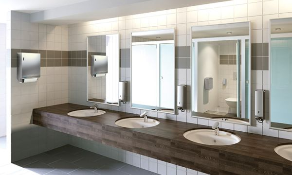 ParadiseLine Stainless Steel washroom